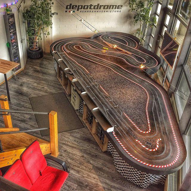 Depotdrome - Carrerabahn - Rennbahn Vermietung Dresden