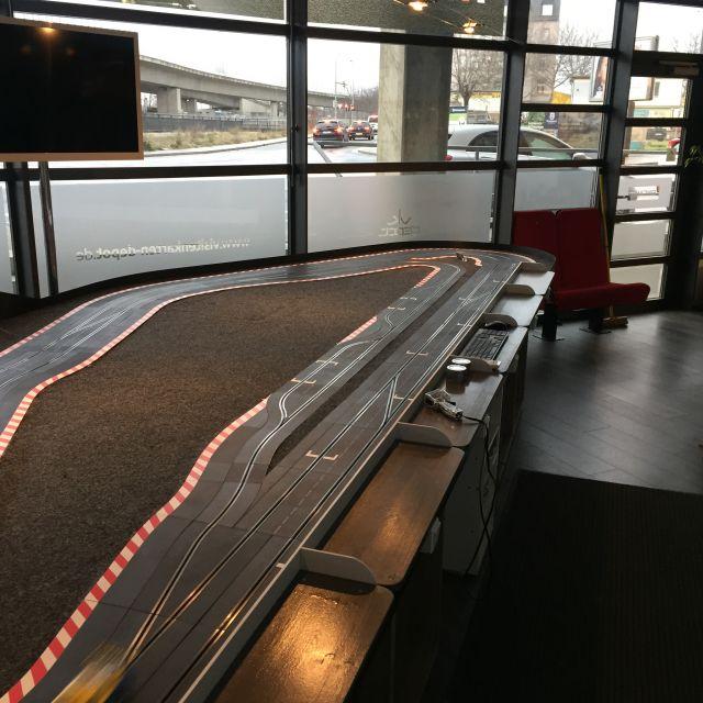 Rennbahn Vermietung Depotdrome